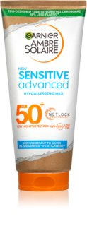 Garnier Ambre Solaire Sensitive Advanced молочко для засмаги SPF 50+
