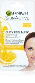 Garnier Skin Active máscara para iluminar pele sem brilho e textura uniforme
