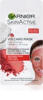 Garnier Skin Active топла маска за лице с вулканични минерали и глина, стягаща порите