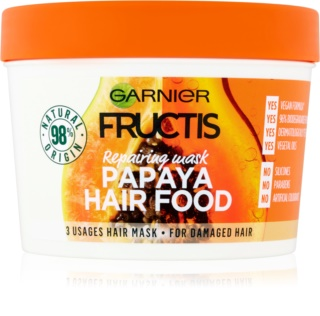 Garnier Fructis Papaya Hair Food mascarilla revitalizante para cabello dañado