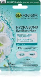 Garnier Skin Naturals Moisture+ Smoothness vyhlazující oční maska s hydratačním účinkem