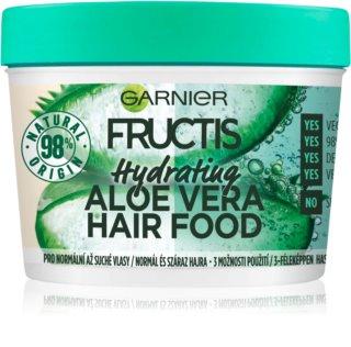 Garnier Fructis Aloe Vera Hair Food Hydratisierende Maske Für normales bis trockenes Haar