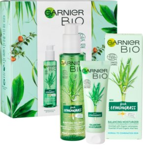 Garnier Bio Lemongrass coffret I.