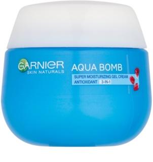 Garnier Skin Naturals Aqua Bomb hidratante antioxidante en gel para el día 3 en 1