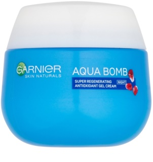 Garnier Skin Naturals Aqua Bomb cremă-gel de noapte antioxidantă cu efect de regenerare