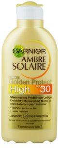 Garnier Ambre Solaire Golden Protect mleczko do opalania SPF 30