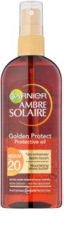 Garnier Ambre Solaire Golden Protect olje za sončenje SPF 20