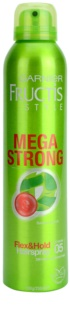 Garnier Fructis Style Mega Strong Hairspray With Extracts Of Bamboo