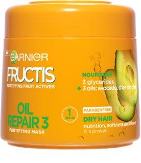 Garnier Fructis Oil Repair 3 stärkende Maske für trockenes und beschädigtes Haar