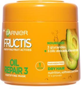 Garnier Fructis Oil Repair 3 máscara fortificante para cabelo seco a danificado