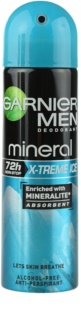 Garnier Men Mineral X-treme Ice antitranspirante en spray