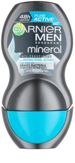 Garnier Men Mineral Pure Active antitranspirante antibacteriano roll-on