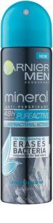 Garnier Men Mineral Pure Active anti-transpirant antibactérien en spray