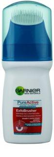 Garnier Pure Active żel oczyszczający ze szczotką
