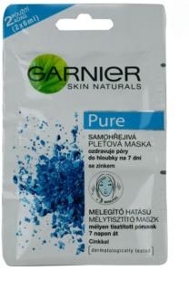 Garnier Pure maska za obraz za problematično kožo, akne
