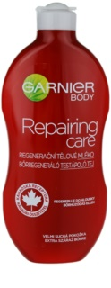 Garnier Repairing Care leite corporal regenerador para pele muito seca