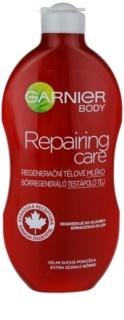 Garnier Repairing Care regeneráló testápoló tej a nagyon száraz bőrre