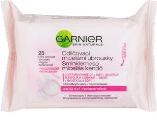 Garnier Skin Naturals festéklemosó micelláris kendőcskék az érzékeny arcbőrre