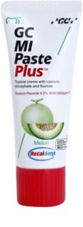 GC MI Paste Plus Melon creme protetor remineralizante para dentes sensíveis com fluór