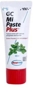 GC MI Paste Plus Mint Protective Remineralising Cream for Sensitive Teeth With Fluoride