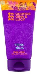 George Gina & Lucy Think Wild Bodylotion  voor Vrouwen  150 ml