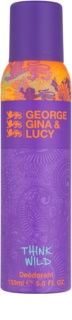 George Gina & Lucy Think Wild Deo Spray voor Vrouwen  150 ml