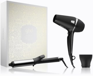 ghd Arctic Gold Dry & Curl Gift Set