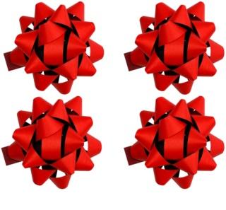 Giftino     selbstklebender Dekostern groß matt 4 Stk. Red