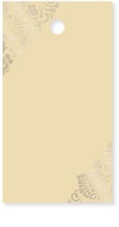 Giftino      Gastgeschenk Namensschildchen Gold 15 Stk.