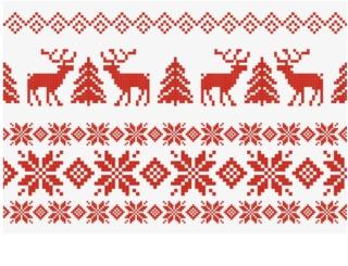 Giftino - - -   božična voščilnica Xmas Jumper brez besedila  (A6)