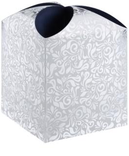 Giftino      ajándékdoboz csillag floral (115 x 115 x 115 mm)