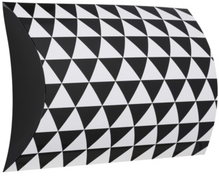 Giftino      Gift Box Geometry - Large (190 x 70 x 230 mm)