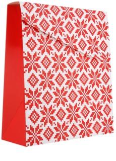 Giftino - - -   darilna vrečka Xmas majhna (100 x 40 x 195 mm)