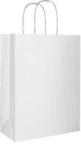 Giftino      Eco Gift Bag Silver - Small (180 x 80 x 220 mm)