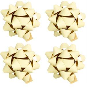 Giftino     étoile de décoration auto-collante petite - effet mat 4 pièces
