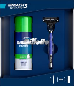 Gillette Mach 3 Start Shaving Kit (for Men)