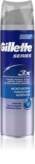 Gillette Series Moisturizing  gel de rasage pour un effet naturel