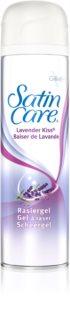Gillette Satin Care Lavender Kiss gel de afeitar para mujer