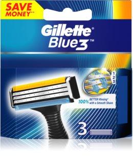 Gillette Blue 3 nadomestne britvice 3 kos