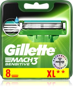 Gillette Mach 3 Sensitive lames de rechange 8 pcs