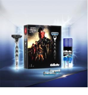 Gillette Mach 3 kit di cosmetici V.