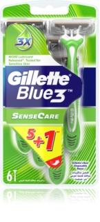 Gillette Blue 3 Sense Care brivnik za enkratno uporabo