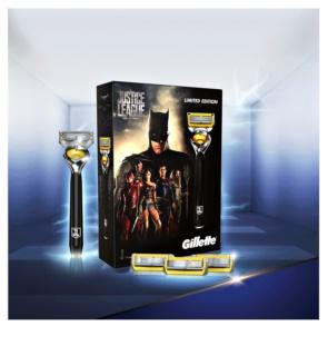 Gillette Fusion Proshield kit di cosmetici IV.