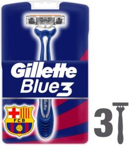 Gillette Blue 3 FCBarcelona lâminas de barbear descartáveis