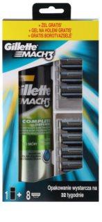 Gillette Mach 3 Kosmetik-Set  IV.