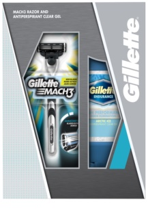 Gillette Mach 3 Kosmetik-Set  III.