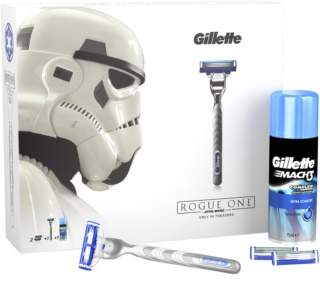Gillette Mach 3 Turbo kit di cosmetici I.