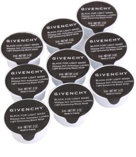 Givenchy Black for Light Mask set de masti iluminatoare 9 buc