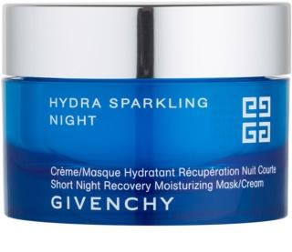 Givenchy Hydra Sparkling mascarilla y crema hidratante de noche 2 en 1