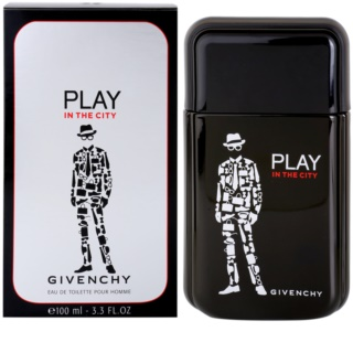 Givenchy Play In the City Eau de Toilette für Herren 100 ml